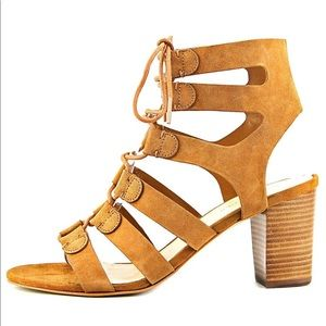 Marc Fisher Patsey Gladiator Sandals in cognac